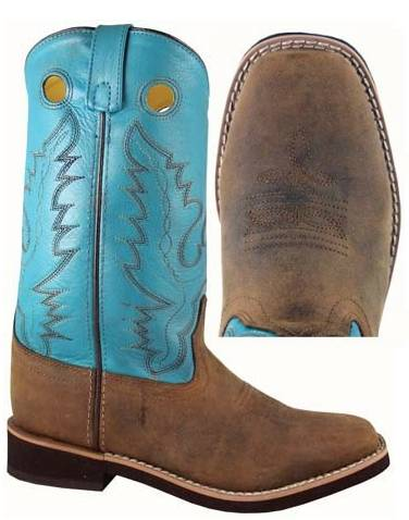 Smoky Mountain Women's Pueblo Leather Western Boot