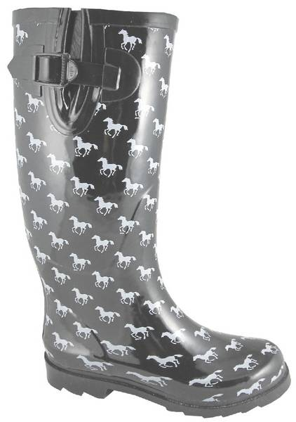 Smoky Mountain Womens Ponies Rubber Boot