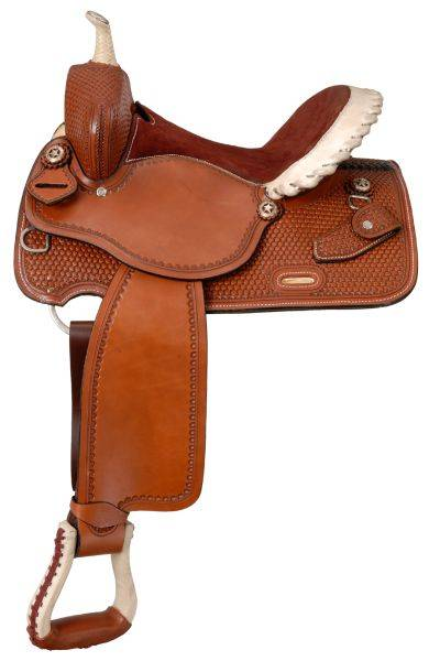 Silver Royal Elite Barrel Saddle