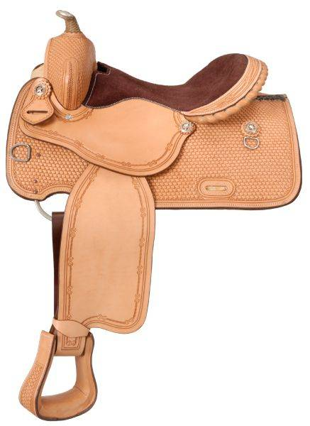 Silver Royal Elite Trail and Competition Saddle