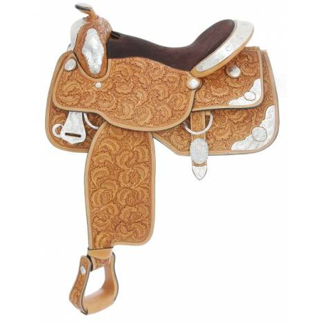 Silver Royal Premier Contender Saddle