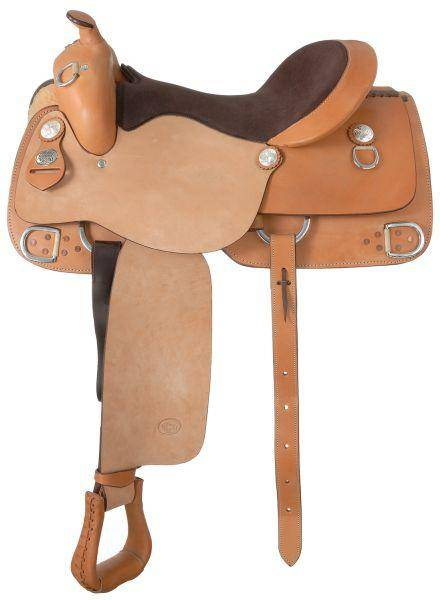 Silver Royal Halfbreed Roughout Training Saddle