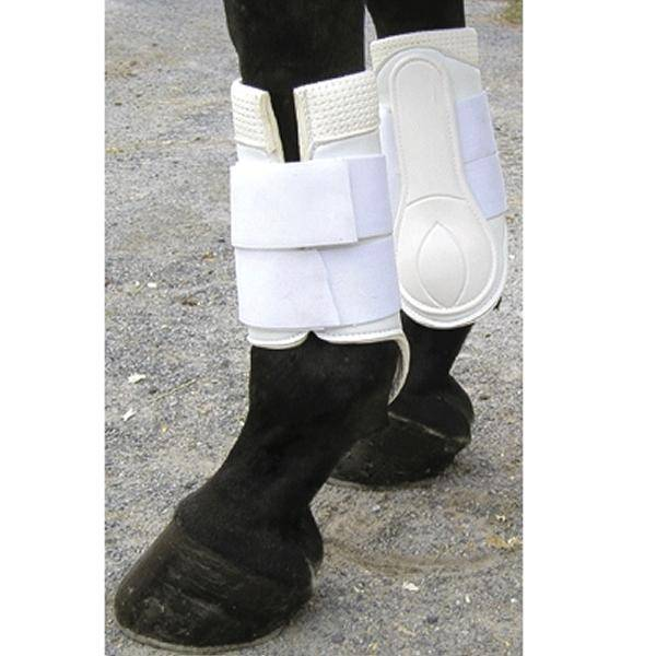 Galloping Boots with hook & loop fastener Closure