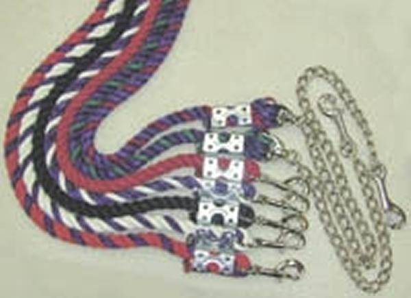Cotton Lead Rope with Snap