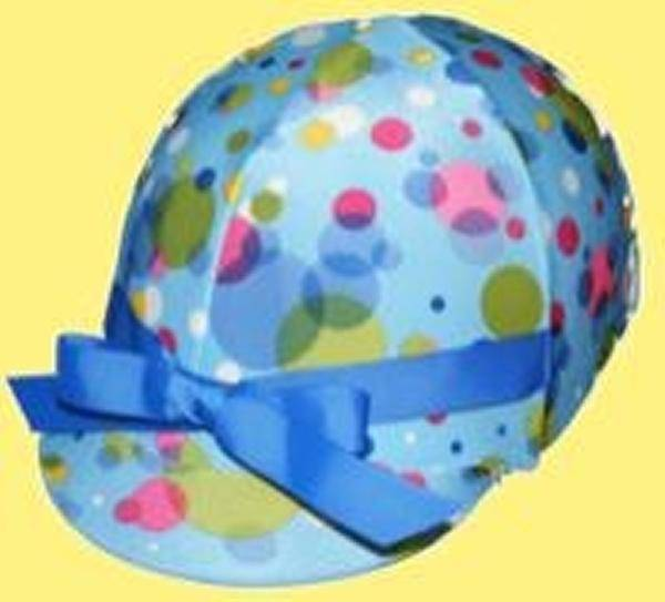 Helmet Helpers Pocket Helmet Cover - Bubbles Print