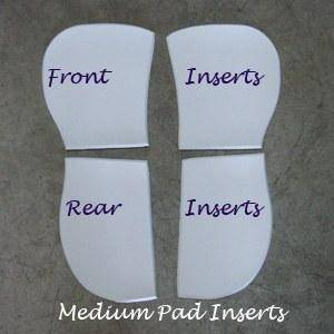 ThinLine Cotton Trifecta Half Pad Inserts