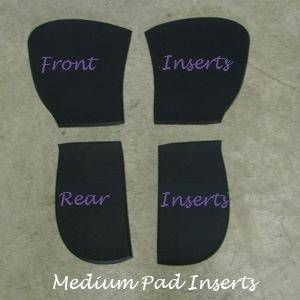 ThinLine Sheepskin Trifecta Half Pad Inserts