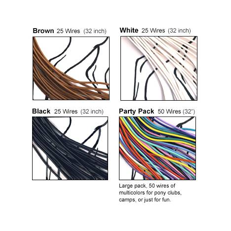 TWISTEEZ WIRE Horse Mane and Tail Braiding Wire