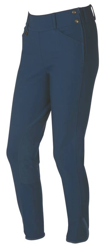 On Course Pytchley Ladies Euro Seat Side Zip Breeches