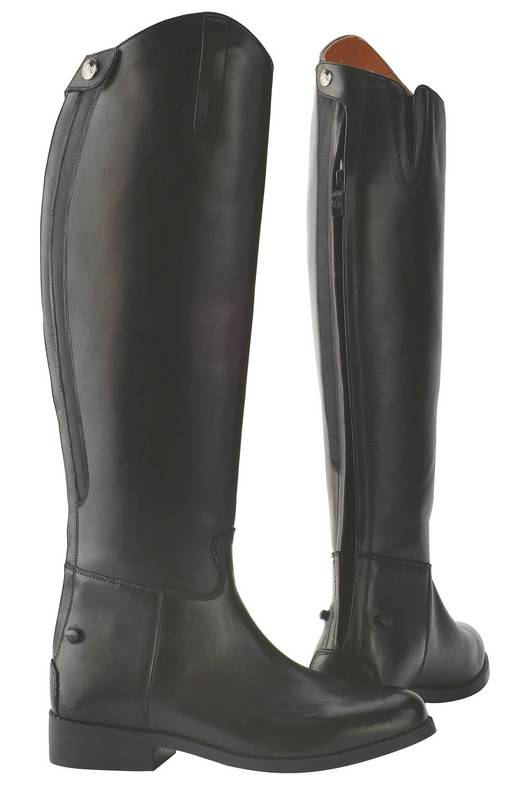 OPEN BOX ITEM: Saxon Equileather Dress Boots With Elastic