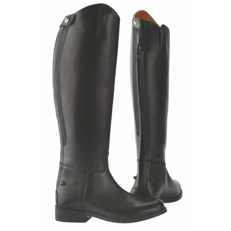 Saxon Equileather Dress Boots With Elastic