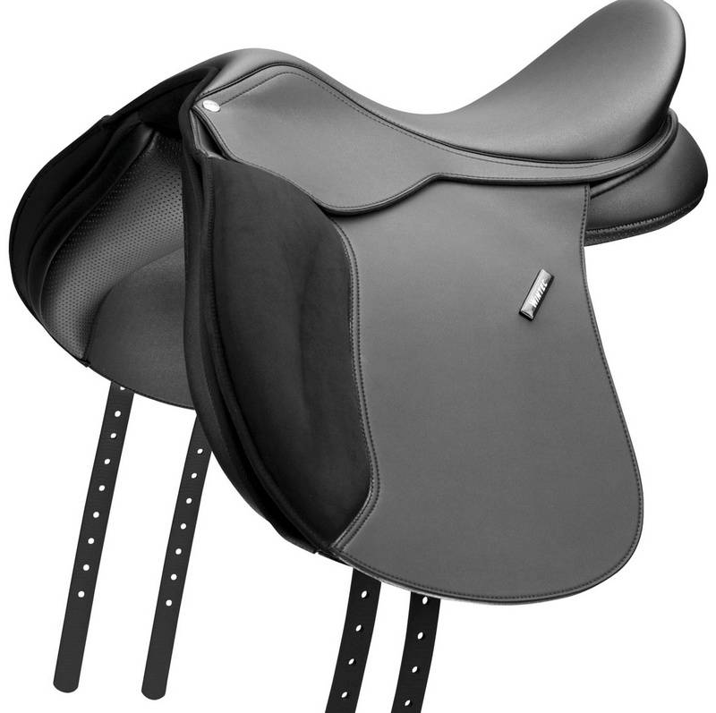 Wintec Wide All Purpose Flocked Saddle