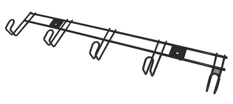 Roma 5 Hanger Wire Rack