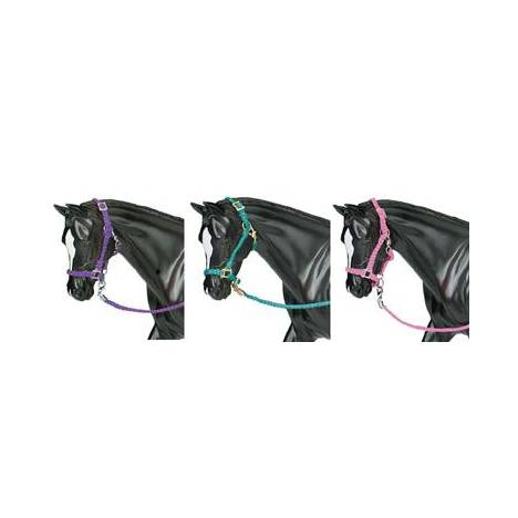 Breyer - Nylon Halters Hot Colored 3-Pc Assortmen