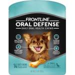 Frontline Oral Defense Daily Oral Health Chews - Frontline Dental Chews Xs