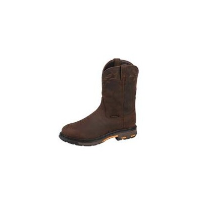 c831c02ab75 Ariat Mens H2O Comp Toe Workhog Pull On - Oil Distressed Brown