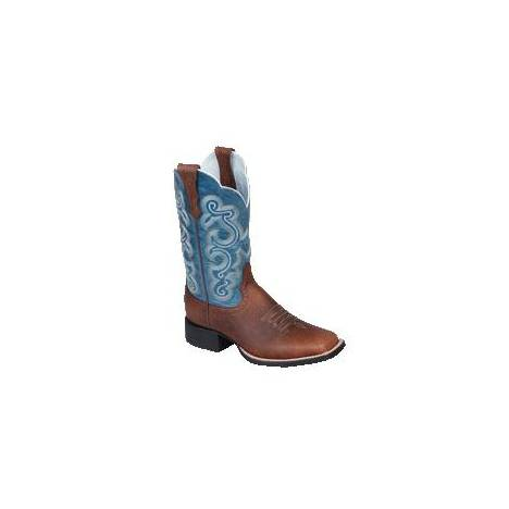 Ariat Womens Quickdraw - Brown/Sapphire Blue