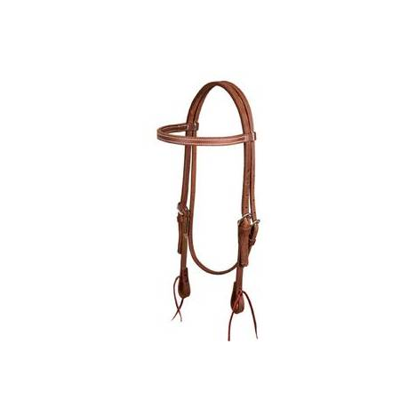 Weaver ProTack Oiled Browband Headstall