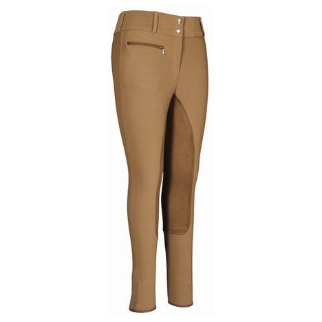 TuffRider Ribb Wide Waistband Full Seat In Lowrise Breech