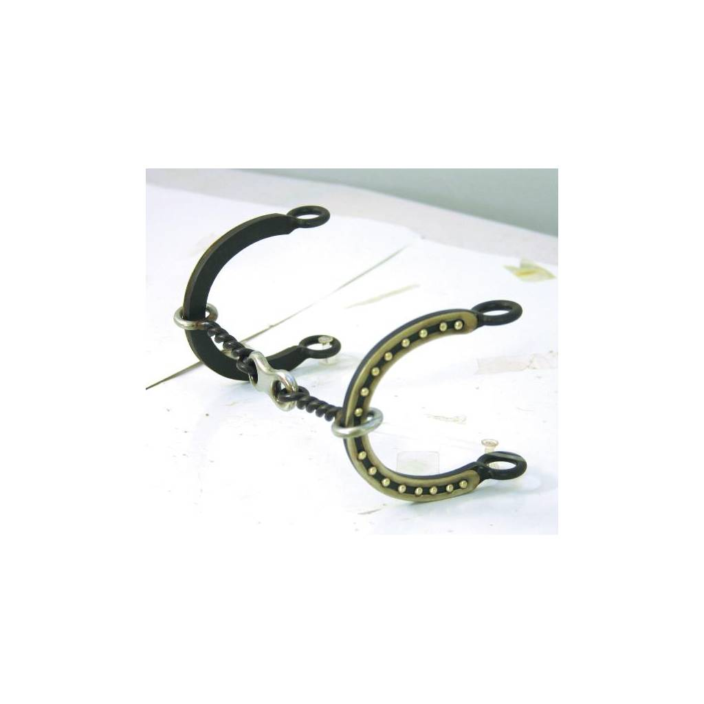 Abetta Connie Combs Horseshoe Gag Bit with Twist Wire Mouth