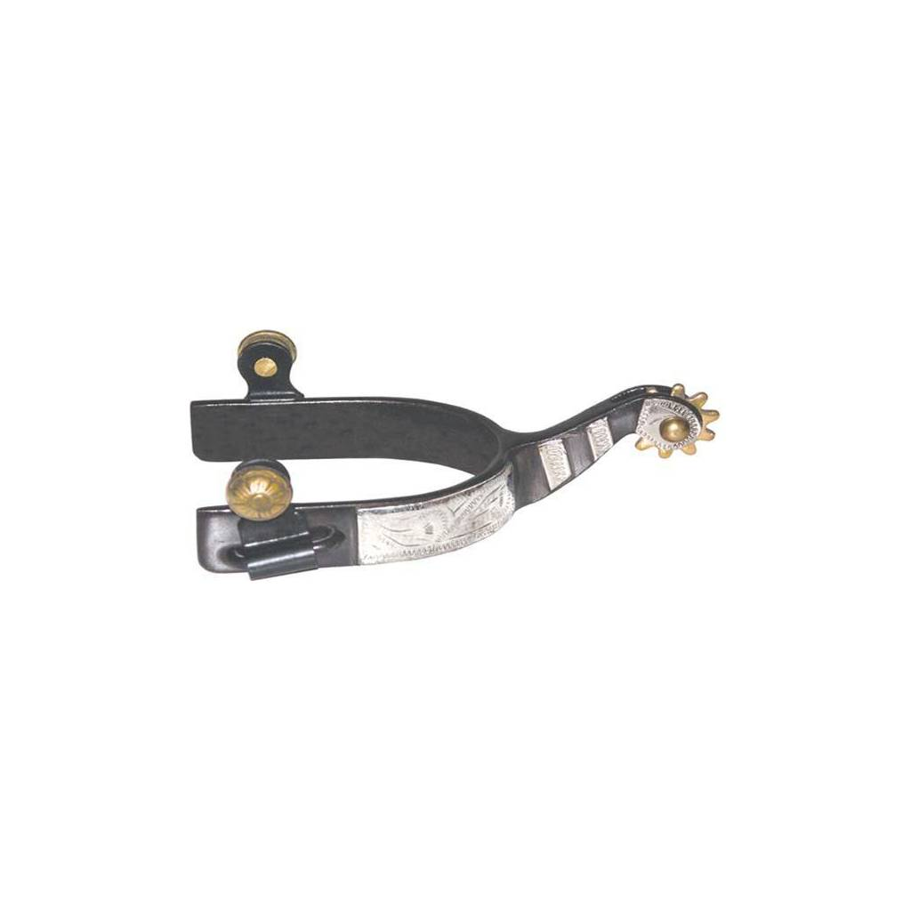 Abetta Roping Spur with Silver