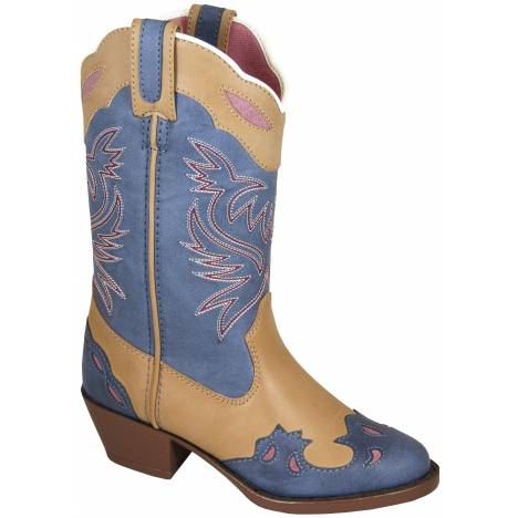 Smoky Mountain Childrens Lila Boots - Blue/Tan