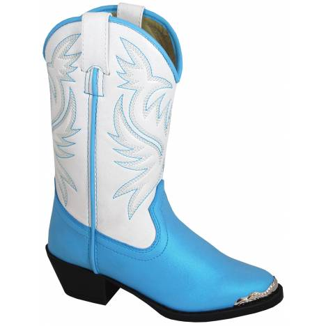 Smoky Mountain Childrens Lily Boots - Blue/White