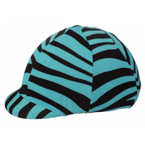 Tough-1 Lycra Helmet Cover Up - Zebra Prints