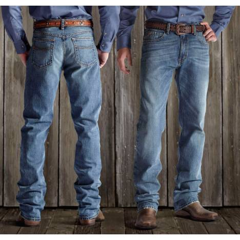 Ariat Mens M2 Relaxed Straight Cut Jeans - Granite