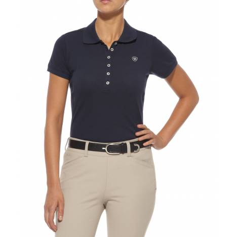 Ariat Ladies Prix Classic Polo - Navy