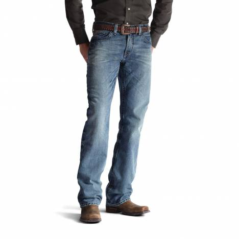 Ariat Mens M4 Low Rise Jeans - Scoundrel