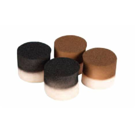 Equifit T-Foam Equine Earplugs-Brown/6 Pairs