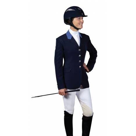Ovation Ladies Performance Show Coat with Contrast Collar