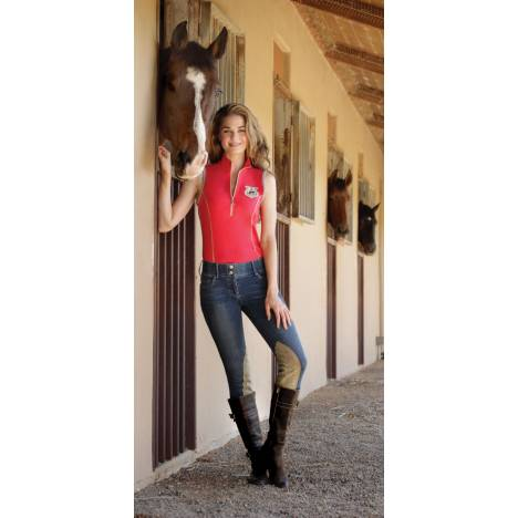 Goode Rider Ladies Jean Rider Knee Patch Breeches
