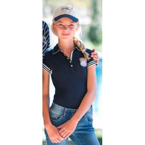 Goode Rider Girls Authentic Polo