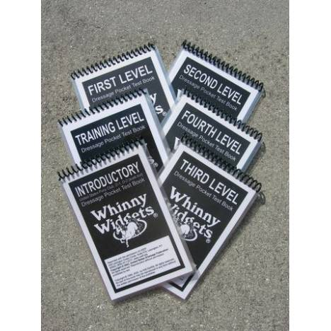 Whinny Widgets 2011 4th Level Dressage Test Book