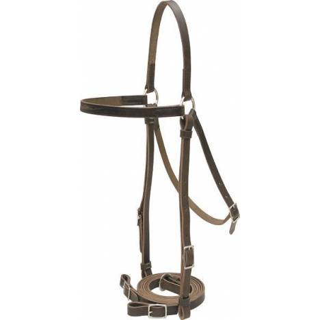 Billy Cook Saddlery Military Style Barco Bridle
