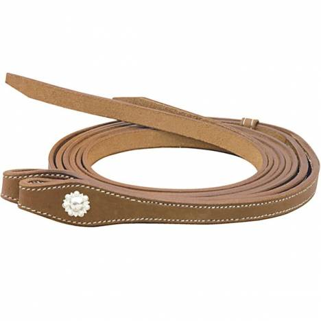Cowboy Pro Split Reins With Gooseberry Conchos