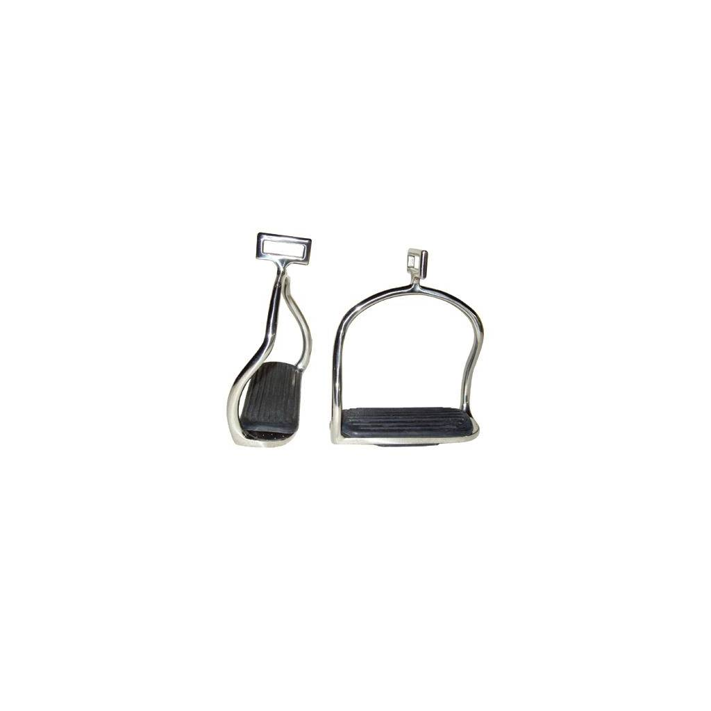 Coronet Double Safety Irons with Cross Loop