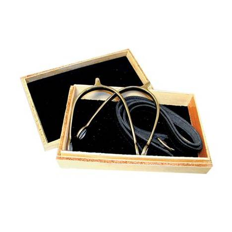 Coronet Prince of Wales Show Spurs - Boxed with Straps Ladies