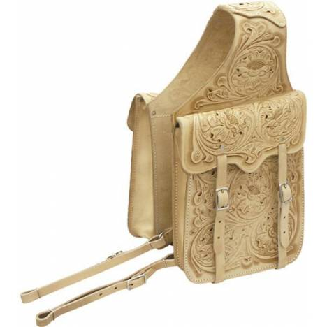 Abetta Embossed Saddle Bag