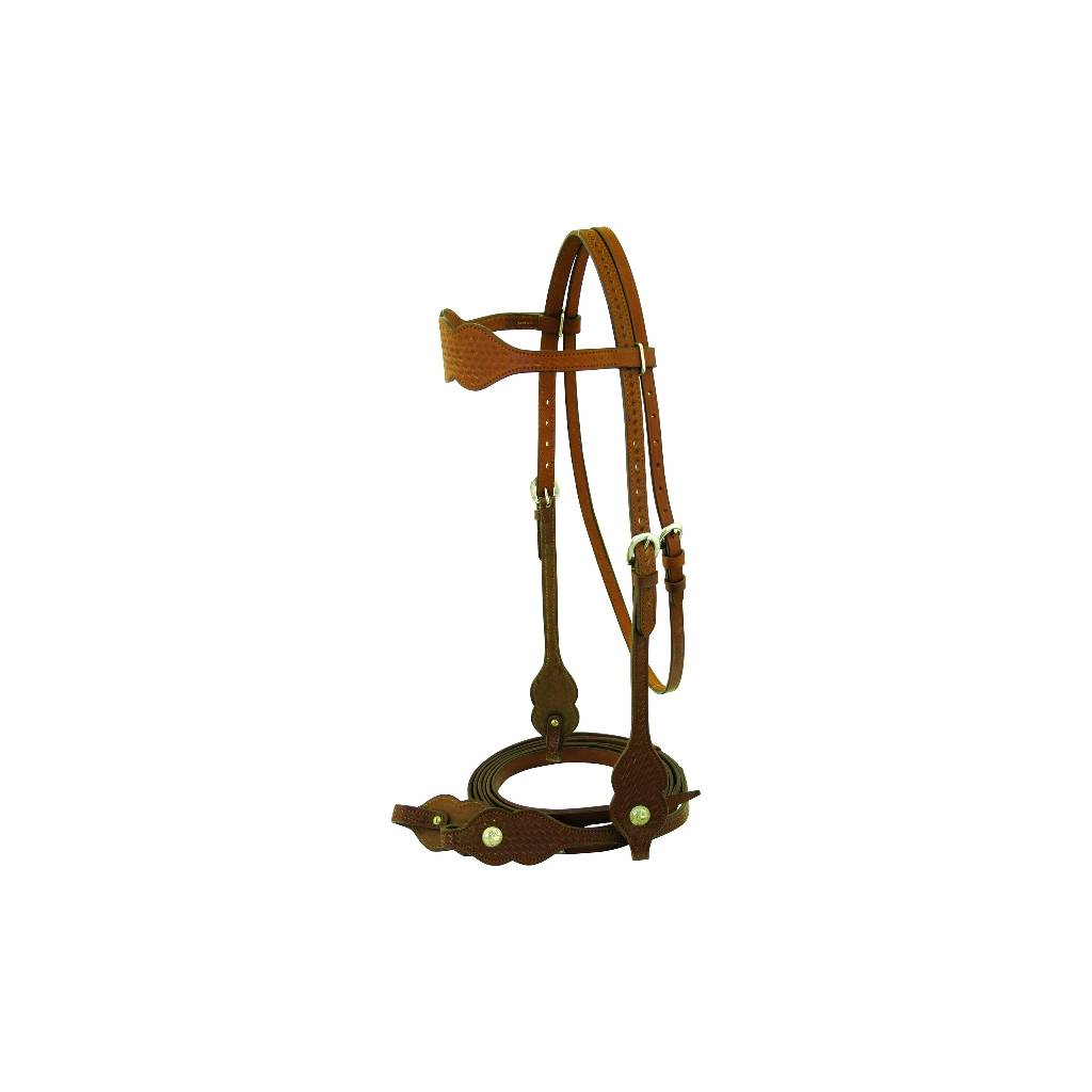 Scalloped Browband Bridle