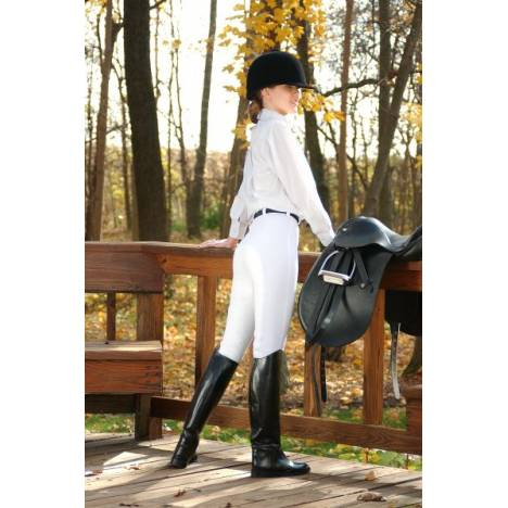 EquiRoyal Ladies Cotton Full Seat Breeches