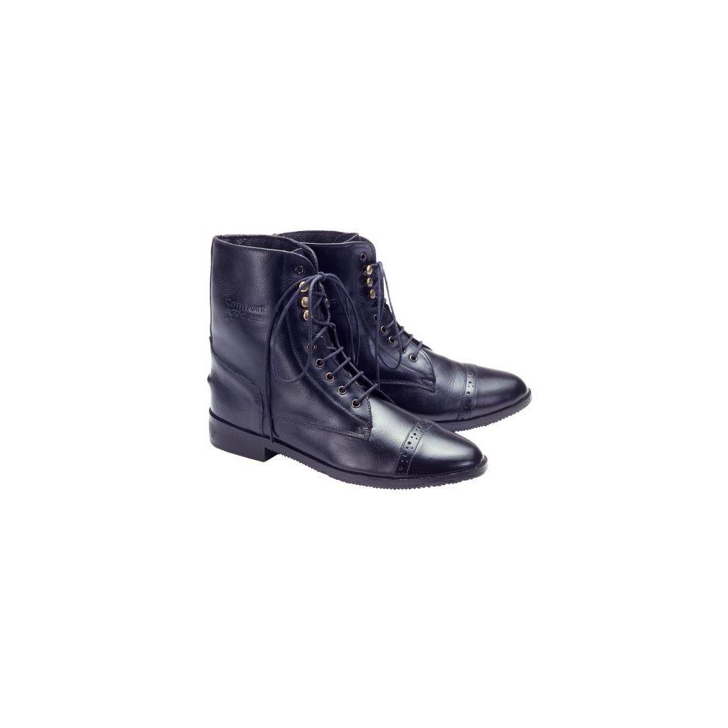 EquiRoyal Ladies Leather Paddock Boots