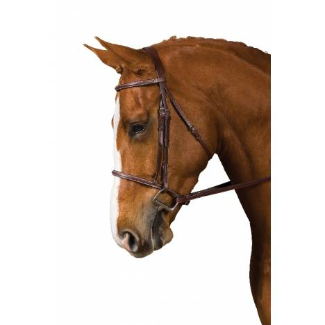 COLLEGIATE Square Raised Bridle with Reins