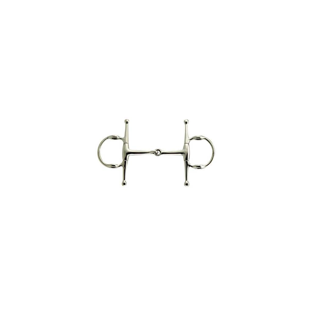 Coronet Gag Full Cheek Snaffle Bit with 6 Cheek