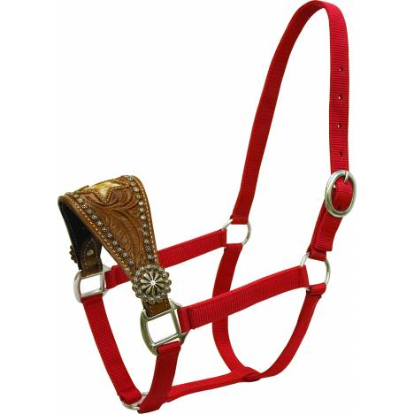 Abetta Halter with Wide Noseband with Star Overlay