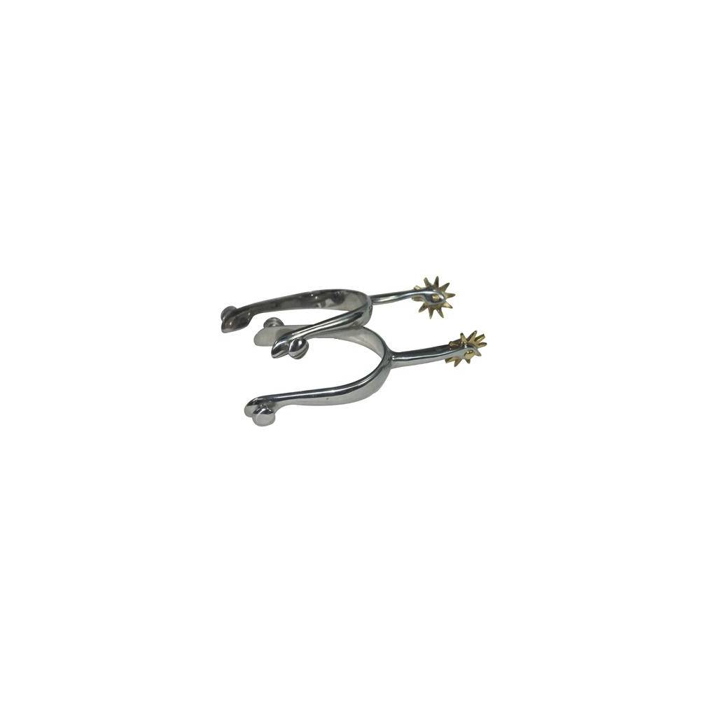 Coronet Walking Horse Spurs with Offset Shank