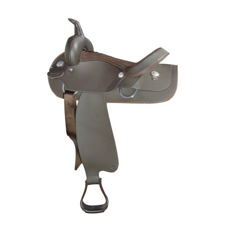 Wintec Semi-QH Synthetic Western Saddle