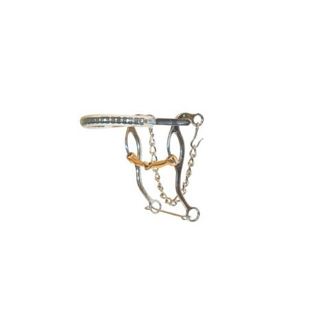 Metalab Chrome Plated Hackamore Bit